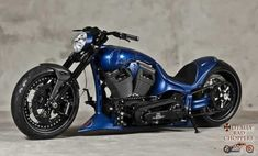 Sebastian Vettel Custom Chopper | Totally Rad Choppers