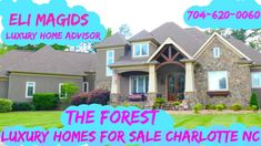 Luxury Charlotte Homes For Sale Luxury Homes, The Neighbourhood, Charlotte, Mansions, House Styles, Videos, Home Decor, Luxurious Homes, Luxury Houses