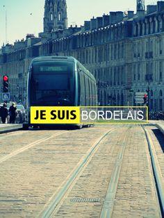"""Tramway"" - Bordeaux, France.  Photo by Lajugs"