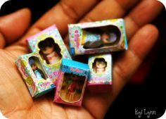 Miniature Blythe Doll Boxes