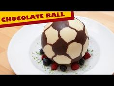 Chocolate Soccer Ball