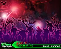 *PIN to WIN* Zom-B Laser Tag at #FanX15! Test your skills with 4 levels of gameplay. Click to RSVP.