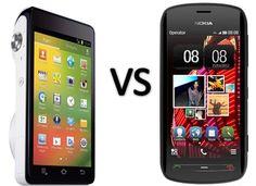 Samsung Galaxy Camera vs Nokia 808 PureView Comparison