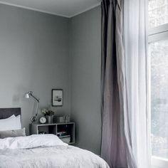 Hang curtains high