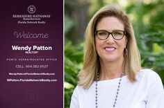 BERKSHIRE HATHAWAY HOMESERVICES FLORIDA NETWORK REALTY WELCOMES WENDY PATTON