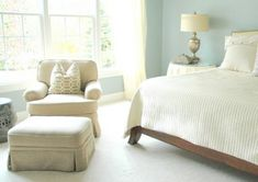 A Blue Bedroom Earns High Marks - The Decorologist