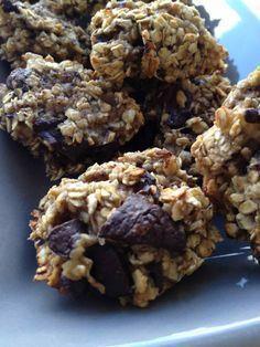 Cookies bananes flocons d'avoine