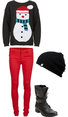 """winter day"" by nicheleherndon on Polyvore"