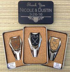 Personalized Groomsmen Gifts Wood Golf Ball Marker/ by woodulike
