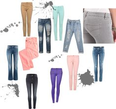 """jeans"" by fashionistastravel on Polyvore"