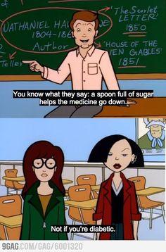 We need more Daria. She made me cynical.