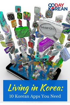 Living in #Korea: 10 #Korean Apps You Need  #KoreanLiving #KoreanLife #KoreanApp  #90DayKorean