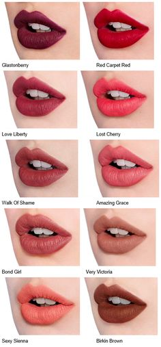 Charlotte Tilbury Matte Revolution Luminous Modern-Matte Lipsticks - Light Skin