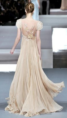 lovely cream gown