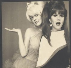 Kate Pierson and Cindy Wilson