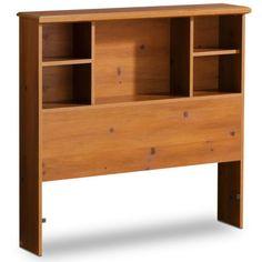 Twin Wood Wooden Headboard Kids Bookcase Book Shelf Bed Head Board Furniture New