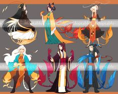 Phoenix Clan [CLOSED] by aketan-adopts.deviantart.com on @DeviantArt