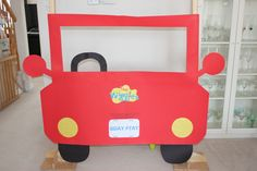 Big Red Car Photobooth