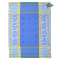 This Tavel Blue Jacquard Dish Towel will add a rich French touch to your kitchen. It is made of the same jacquard fabric as our Tavel Blue line of table linens. French Provincial Kitchen, Jacquard Fabric, Blue Line, Dish Towels, Cottage Chic, Table Linens, Beach Mat, Outdoor Blanket, Dishes