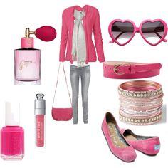 Think Pink, created by joyce-sman-breumelhof.polyvore.com