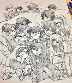 pixiv is an illustration community service where you can post and enjoy creative work. A large variety of work is uploaded, and user-organized contests are frequently held as well. Manga Anime, Dc Anime, Anime Art, Magic Kaito, Detective Conan, Conan Comics, Gosho Aoyama, Kaito Kid, Kudo Shinichi