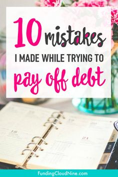 My journey from massive student loan debt to debt-freedom wasn't easy. I certainly made a lot of mistakes. Find out how you can avoid making the same ones!