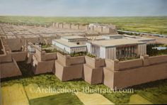 Susa, Palace of Darius century BC @ Bible Illustrations, Biblical Sermon Illustrations, Christian Pictures Persian Architecture, Historical Architecture, Ancient Architecture, Ancient Mesopotamia, Ancient Civilizations, Sermon Illustrations, Bible Images, Ancient Persian, Ancient Near East