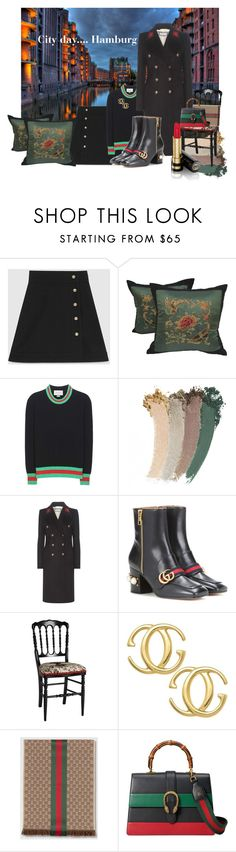"""""""City Day Hamburg"""" by kapua-blume ❤ liked on Polyvore featuring Gucci"""