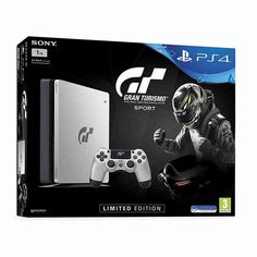 Price: QR Sony PlayStation 4 Gran Turismo Sport Limited Edition Silver Bundle online in Doha, Qatar. Sony PlayStation 4 has an inbuilt storage of The Gran Turismo game offers … Ps4 Console, Playstation 4 Console, Playstation Games, Xbox Games, Consoles, New Ps4, S Mo, Videogames, Computers