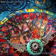 Orbits (mandala), detail by Susan Crocenzi