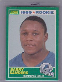 1989 Score Barry Sanders Rookie Card #257 | eBay