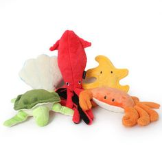 Sea Creature Dog Toy
