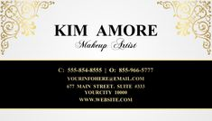 makeup artist business card, business card design templates, business card for stylists, company business card. Company Business Cards, Business Flyers, Custom Business Cards, Business Card Design, Online Business, Makeup Artist Business Cards, Share Online, Free Downloads, Card Tags