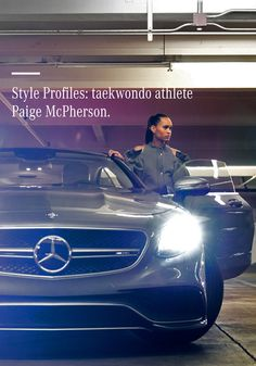 "The fictitious Mercedes-Benz short film ""The Spot"" shows Team USA Taekwondo Olympic Bronze medallist Paige McPherson in a humorous Matrix-style confrontation with three martial arts pros—over a free parking space."