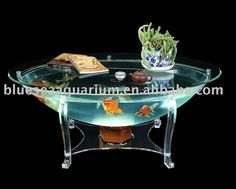 Round Fish Tank Coffee Table - So you searching for the best dining table to go into that new condo you rented? Or you require a new stylish bit of Round Fish Tank, Fish Tank Coffee Table, Coffee Tables, Fish Tank Design, Acrylic Aquarium, Saltwater Aquarium Fish, Dining Room Buffet, Salt Water Fish, All Of The Lights
