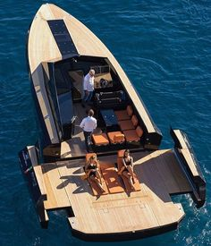 Open Space on this Evo 43' #openspace #opening #openyacht #yachtinh @evoyachts