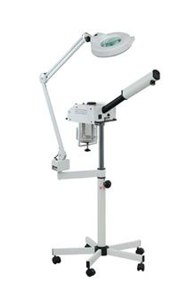Classic Facial Steamer + Mag Lamp Combo. On Sale for $500.00  The 101/186 was the first steamer / mag lamp combination on the market. This space saving duo can fit most any tight spaces and budgets.