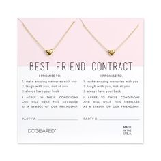 Super gifts for friends diy bff necklace set Ideas