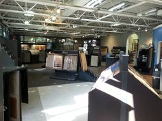 After shot of our beautiful new showroom!