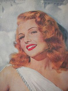 Rita Hayworth - I want that hair