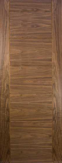 Sevillia Grooved Internal Pre-finished Walnut Doors