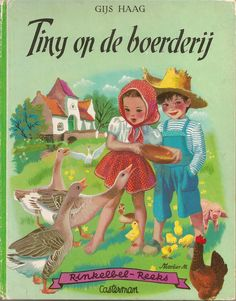 Tiny op de boerderij - illustrated by Marcel Marlier 1954 (from my personal collection)