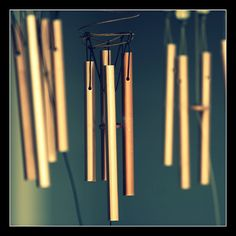 God is all around us! Wind Chimes - Renewed Daily