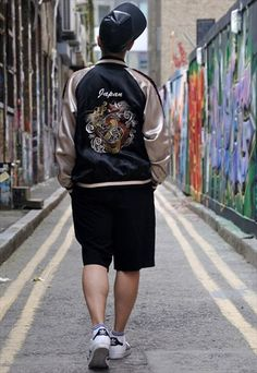 Vintage+Japanese+Sukajan+Souvenir+Jacket
