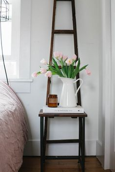 Spring bedroom updat
