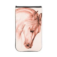 Andalusian Red Sepia Horse Kindle Sleeve