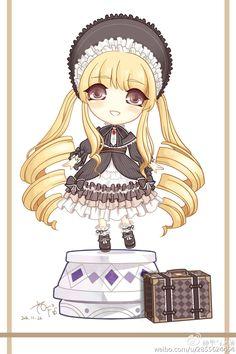Anime Chibi, Manga Anime, Fun Games For Girls, My Miracle, Design Comics, Cute Chibi, Kawaii Art, Cute Art, Rocks