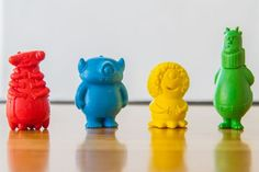 Monster-shaped crayons get crowdfunding backing to help abused children