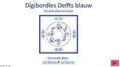 Digibordles Delfts Blauw