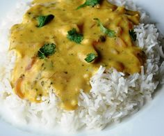 Punjabi Kadhi (Yellow curry made with chickpea flour and yogurt)
